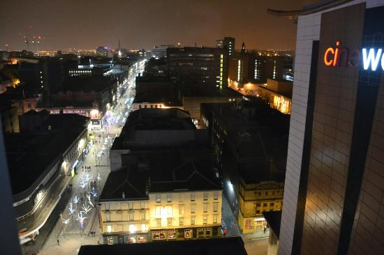 Premier Inn Glasgow City Centre Buchanan Galleries Hotel View Over Streets From The