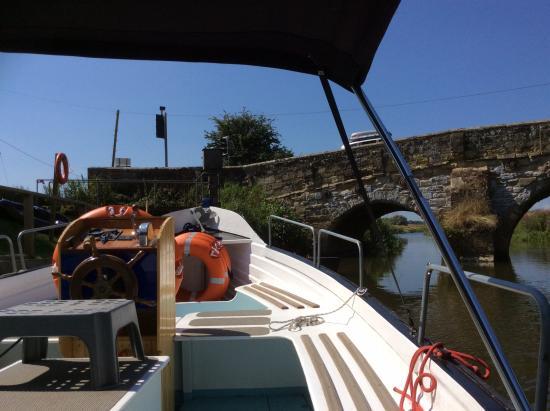 Bodiam Boating Station: Ready to set off