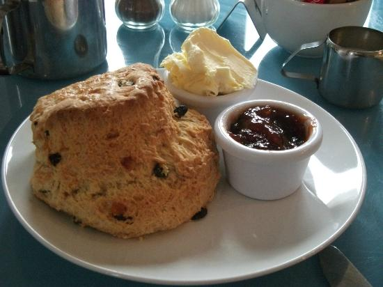 Ashover, UK: One of Kath's scones