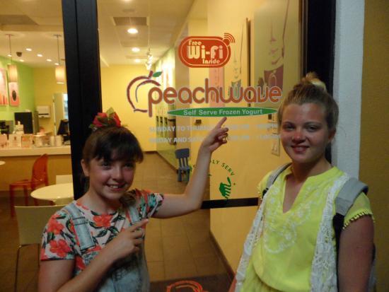 Peachwave: Daily visit