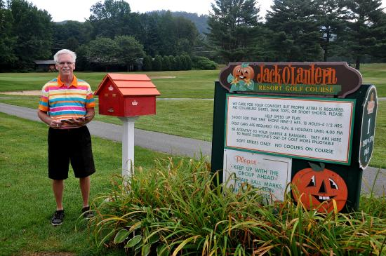 Jack O'Lantern Resort: On the first tee