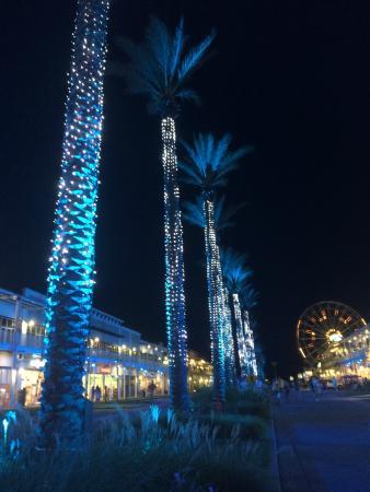 Wharf Light Show Picture Of The Orange Beach