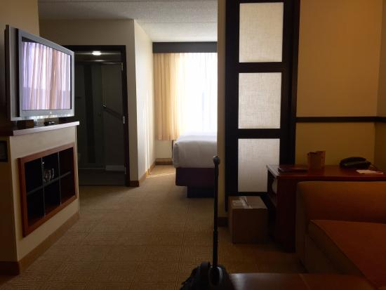Hyatt Place Dallas/Plano: Large standard rooms