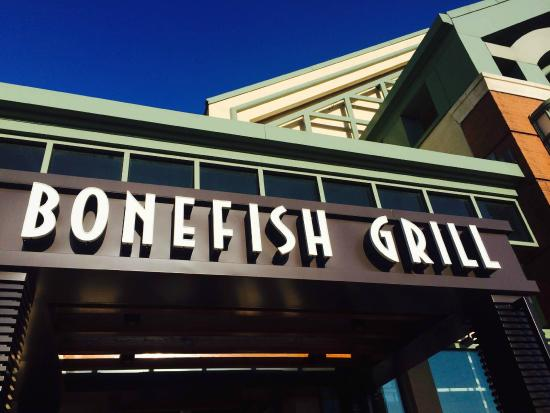 Signage picture of bonefish grill wilmington tripadvisor for Bone fish grill locations