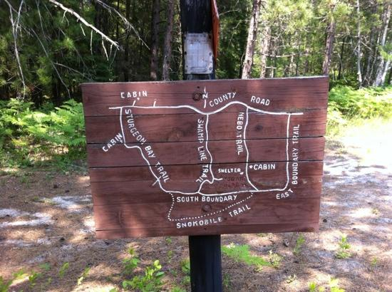 Wilderness State Park: Miles upon miles of mountain bike trails