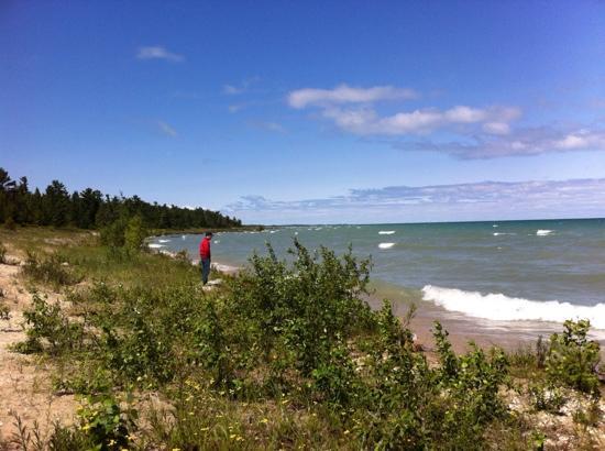 Carp Lake, MI: Ah Wilderness!