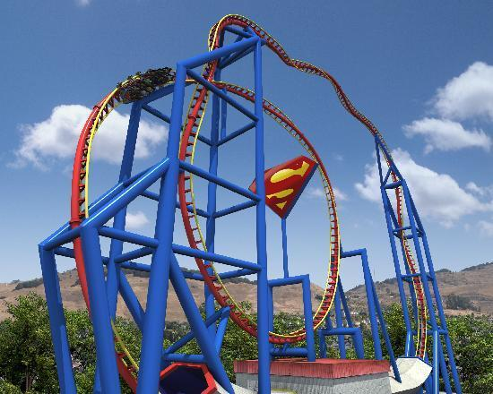 Superman ultimate flight best ride there - Picture of Six Flags ...