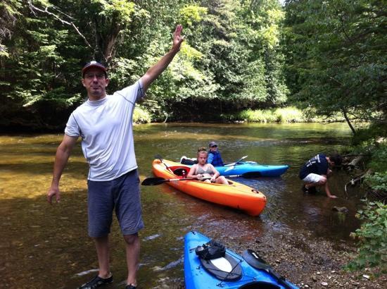 Wolverine, MI: Great kayaking!
