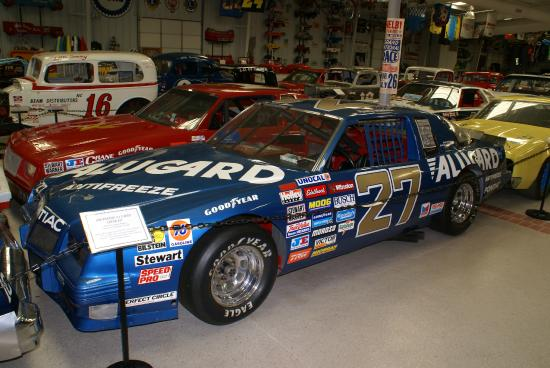 An Old Rusty Wallace Race Car Picture Of Memory Lane Museum