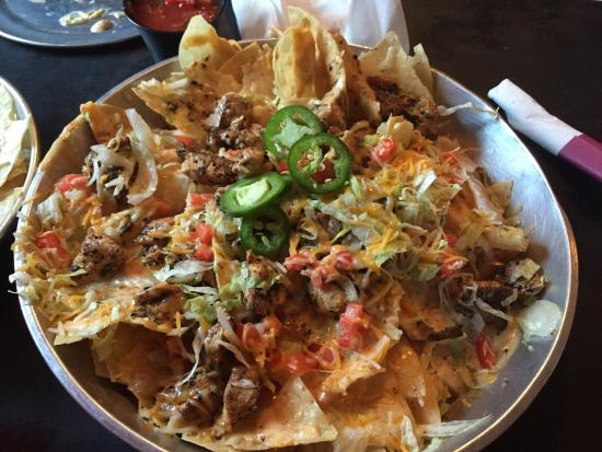 3 Matadors Tequileria: Chicken Nacho Pile!!!!!  This is an amazing treat with a delicious Margarita!