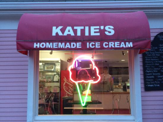 Katie's Homemade Ice Cream: Katie's on Main Street, Hyannis