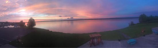 Baraga, MI: Sunrise from our room
