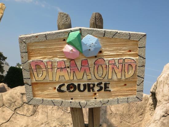 Professor Hacker's Lost Treasure Golf: Diamond course