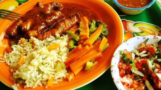 Chenchos restaurant: wrapped shrimp