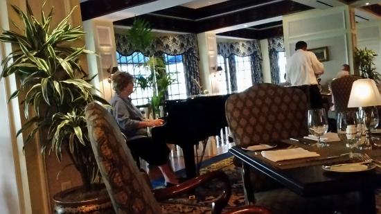Fairview Dining Room Piano Player  Picture Of Fairview Dining Room Durham  Tripadvisor