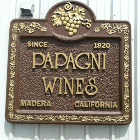 Madera Wine Trail: Papagni Wines, Madera, California, USA