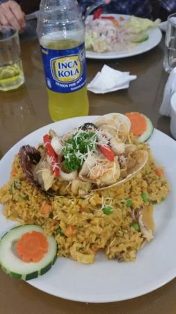 Restaurant Moche: Nice rice with sea food