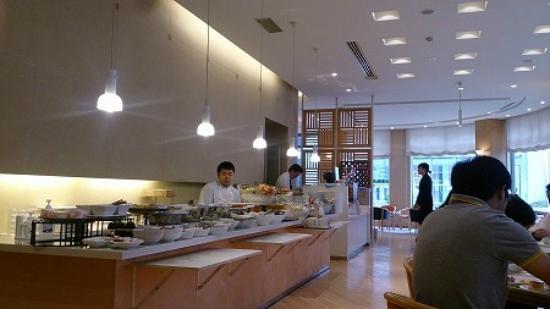 Hotel Foliage Sandai : 朝食バイキング