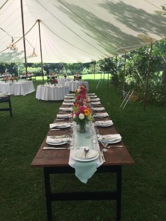 Skaneateles, NY: wedding catering