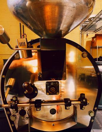 Olympia Coffee Roasting Co.: The Roaster!