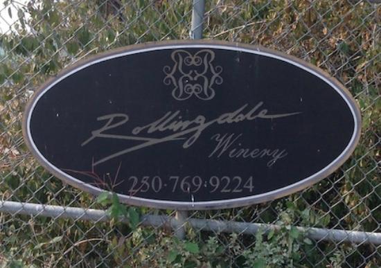 West Kelowna, Kanada: Rollingdale Winery