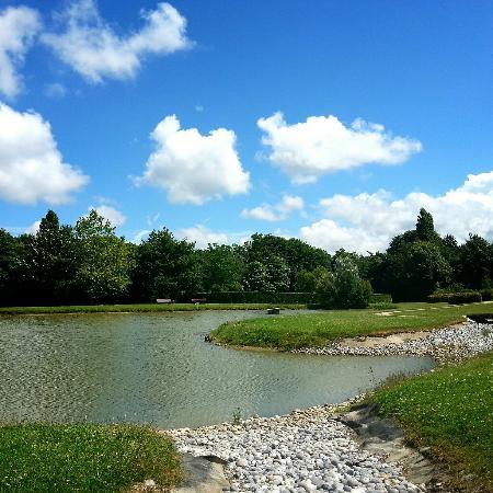 Le petit plan d 39 eau picture of la colline aux oiseaux - La colline aux oiseaux caen ...