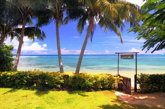 Matei, Fiji: Our secluded white sand beach (and yours!)