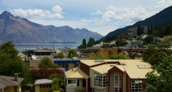 Haka Lodge Queenstown: Our awesome central Queenstown location!
