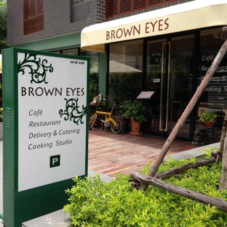 Brown Eyes : New location under Circle S Condo