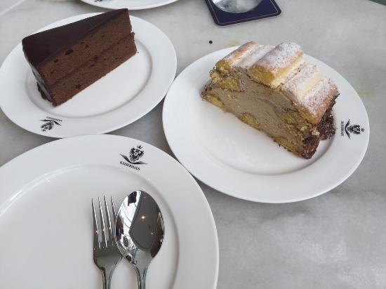 933e932a5c02 Classic Austrian Cakes - Picture of Kaiserhaus