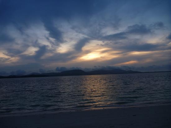 Rang Yai Island: Sunset