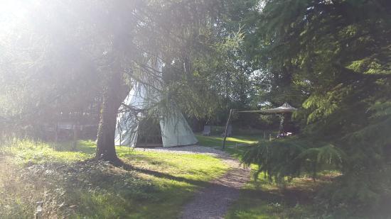 Saint-Gatien-des-Bois, Prancis: Aperçu de l'extérieur