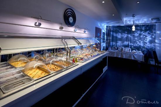 Design Hotel (D'Otel): Restaurant