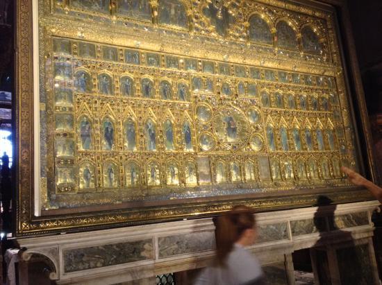 Pala d 39 oro picture of basilica di san marco venice for Pala de oro