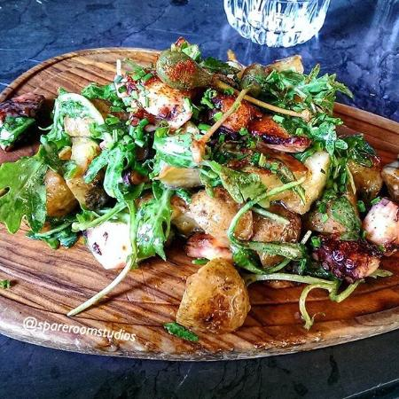 Local Thessaloniki: Warm Potato Salad with Octopus