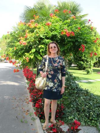 foto in giardino - Hotel Terme Belsoggiorno, Abano Terme - TripAdvisor