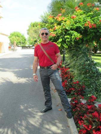 Abano Terme, Italia: foto in giardino