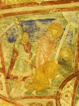 Аквилея, Италия: Cripta degli affreschi, Basilica di Santa Maria dell'Assunta