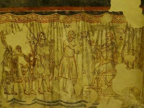 Aquileia, Italië: Cripta degli affreschi, Basilica di Santa Maria dell'Assunta