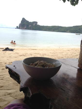 Baia Baia : While having breakfast