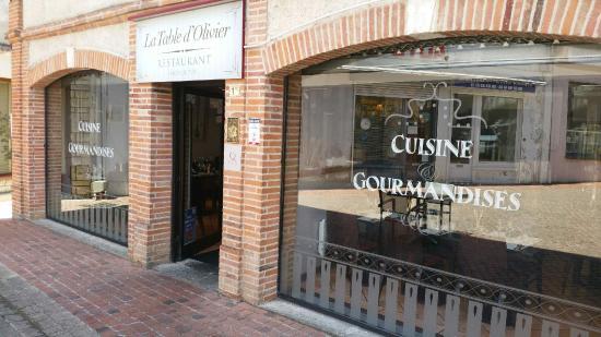 Samatan, Francja: Restaurant La Table d'Olivier