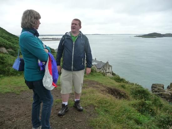 Seaview: guide - john the man - offers tours through howth