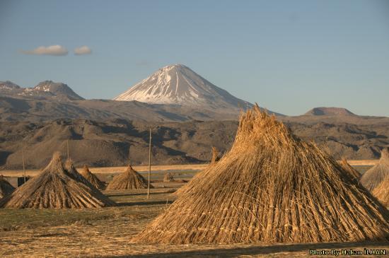 Провинция Агри, Турция: Ağrı dağının yakınındaki köyde manzara