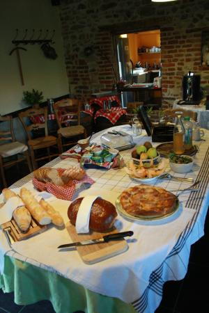 Auberge du Bracmar : Petit-déjeuner