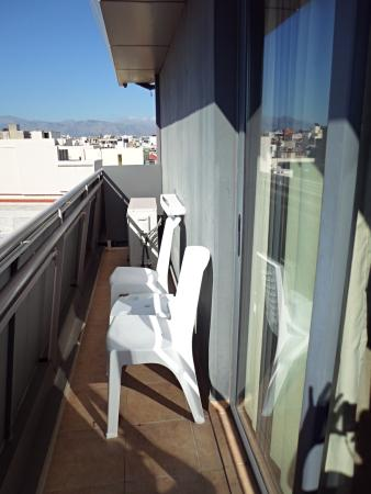 Iraklion Hotel: balcon
