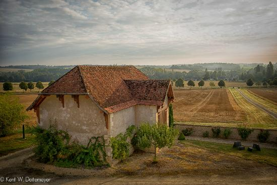 Saint-Jean-Saint-Germain, Fransa: View from Room at Domaine de Maison Neuve