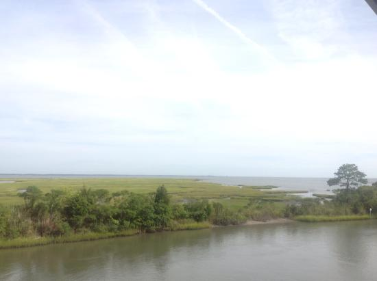 Island Motor Inn Resort: Beautiful views of the bay