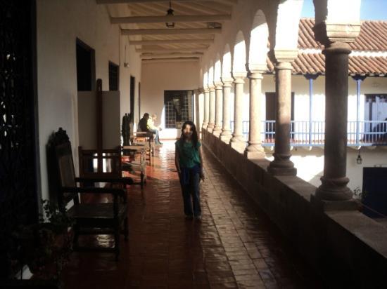 Casa Garcilaso: Vista interior desde el segundo piso