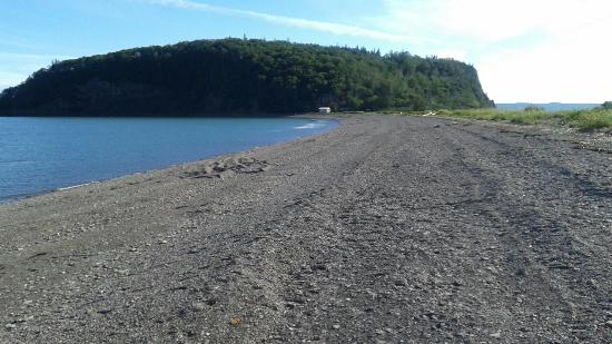 Parrsboro, Canadá: Beach and Partridge Island