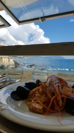 Vittorio al Mare: Vista sul borgo di boccadasse